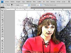 Photoshop CS4- De fotografía a dibujo o pintura