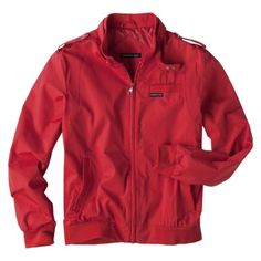 Members Only Racer Jacket - Red