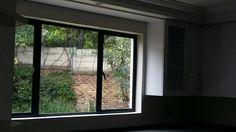 Side hung window looking from inside out.  Windorpro (Pty) Ltd Www.windorpro.co.za