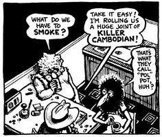 """Comics and Weed, Man!, """"The Fabulous Furry Freak Brothers"""" by Gilbert. Fat Freddy's Cat, Gilbert Shelton, Robert Crumb, Aboriginal Painting, Brother Quotes, Funny Slogans, Conceptual Art, Custom Art, My Father"""