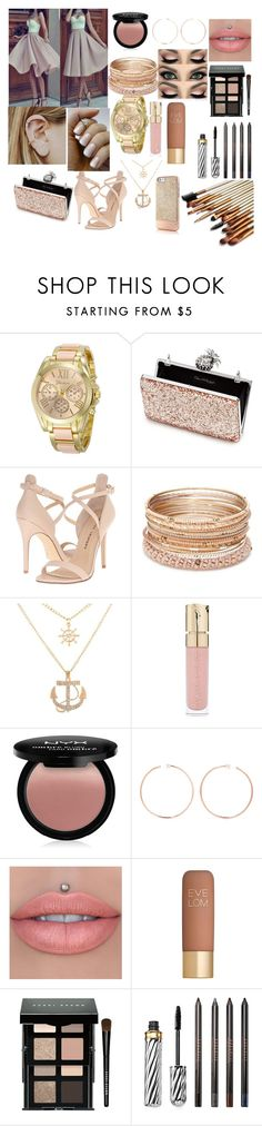 """""""classic girl"""" by gmurielle ❤ liked on Polyvore featuring Miss Selfridge, Chinese Laundry, Red Camel, Smith & Cult, NYX, Anita Ko, Eve Lom, Bobbi Brown Cosmetics and Borghese"""