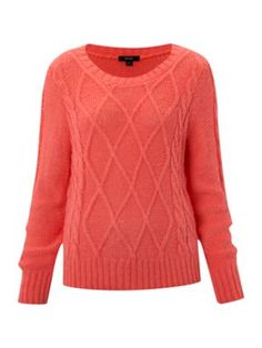Therapy Cable knit jumper