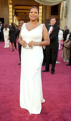 Twitter / stylepantry: Queen Latifah arrived earlier ...