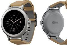 Vazam primeiras imagens em alta definição do LG Watch Style