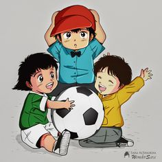 Captain Tsubasa Chibi <3 All Anime, Me Me Me Anime, Manga Anime, Captain Tsubasa, Cute Anime Wallpaper, Cool Cartoons, Fujoshi, Children Photography, Kawaii Anime