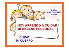 Afiches para enseñar el higiene personal para niños