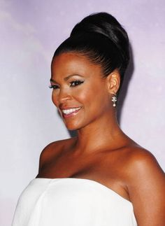 Picture of Nia Long Updo