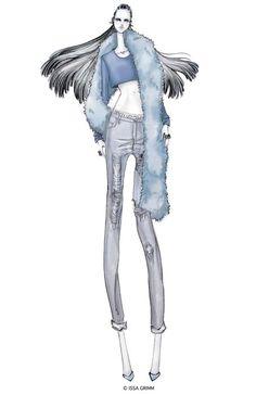 Issa Grimm Fashion Illustration