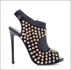 Unique! #PhilippPlein peep toe #heels -  #designer #shoes at #discount price!