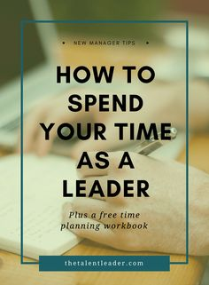 New manager tips, leadership, time management, productivity, first time manager, career advice #leadership #management
