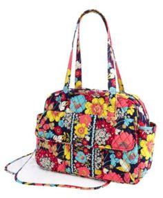 Vera diaper bag...I'm a floral fanatic