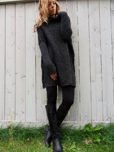 957db9eb36fac Oversized  Slouchy  Chunky knit sweater. Alpaca blend от LeRosse Merino  Wool, Sweaters