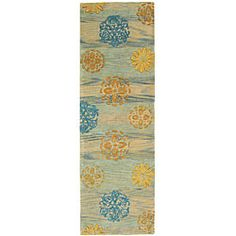 @Overstock - Beautify your home with a contemporary wool runner  Area rug features a hand-tufted modern design  Bold floor rug displays stunning gem tones of blue, beige and goldhttp://www.overstock.com/Home-Garden/Handmade-Rodeo-Drive-Blox-Blue-Multi-N.Z.-Wool-Runner-26-x-8/3994484/product.html?CID=214117 $83.21