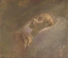 Ladislav Mednyánszky: Podobizeň mŕtveho dievčaťa:1880 Overcoming Anxiety, Hungary, Death, Portraits, Europe, Artists, Painting, Head Shots, Painting Art