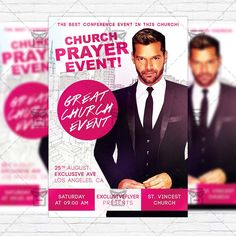 Black Party – Premium Flyer Template + Facebook Cover http ...