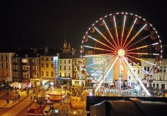 #Beautiful #Christmas #Cork and the #Ferris wheel. Taken from the official #GlowCork webpage: http://www.glowcork.ie/