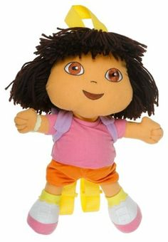 "Dora the Explorer DOLL 14"" Plush Backpack Doll by Global Design Concept. $11.99. new. Save 67%!"