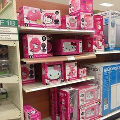 Hello Kitty Kitchen Stuff Pancake Maker Toaster Mini Fridge