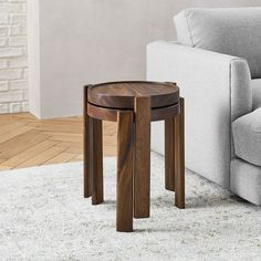 Modern furniture for every room. Find contemporary sofas, headboards, dining tables, and more at west elm furniture store. Teen Furniture, Small Furniture, Living Furniture, Contemporary Furniture, Furniture Decor, Furniture Board, Rustic Side Table, White Side Tables, Mid Century Dining