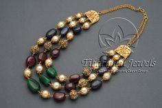 Tiraa by Tibarumal Jewels Emerald Jewelry, Pearl Jewelry, Wedding Jewelry, Jewelery, Silver Jewelry, 925 Silver, Silver Ring, Sterling Silver, Fancy Jewellery