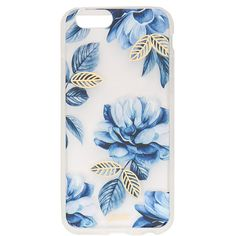 Sonix Indigo iPhone 6 / 6s Case ($35) ❤ liked on Polyvore featuring accessories, tech accessories, phone cases, phone, tech, cases, floral, iphone case, iphone cover case and metallic iphone case