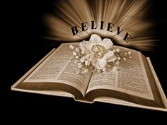 What more can I say ..... Believe on Jesus....Believe His Word.....Believe that He loves you and died for your sins........Believe....