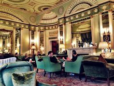 Afternoon tea @ Home House, a private members club w/ interiors by Robert Adams. (Home House Private Members Club. Estilo Adam, London Nightlife, Best Afternoon Tea, English Architecture, Adam Style, London Clubs, London House, Traditional Interior, English Style