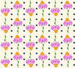 Design - Raketenblumenparty - by trulli, eines der Top10 von der Summertime Stoffparade