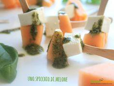 FINGER FOOD al MELONE – Per un aperitivo originale e fresco –  #ricette #food #recipes