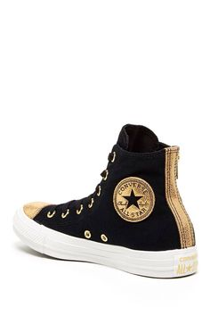 939f16086de Converse - All Stars Gold High Top Sneakers