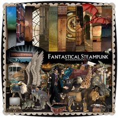 Fantastical Steampunk by Holliewood Studios