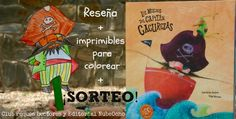 """libro infantil """"Los miedos del capitán Cacurcias"""" + SORTEO  (para el miedo a los seres imaginarios)"""