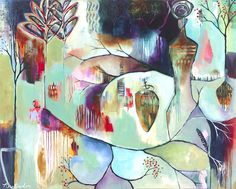Available Work - Flora Bowley Abstract Expressionism, Abstract Art, Abstract Paintings, Flora Bowley, The Artist's Way, Collage, Learn To Paint, Surreal Art, Pattern Art