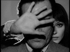 Jean-Luc Godard will produce new film, 'Adieu au Langage,' in Goodbye To Language, New Wave Cinema, French New Wave, Anna Karina, Cinema Theatre, Jean Luc Godard, French Films, Silhouette, About Time Movie