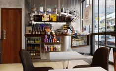 Cafe space designed by Stefano Tordiglione