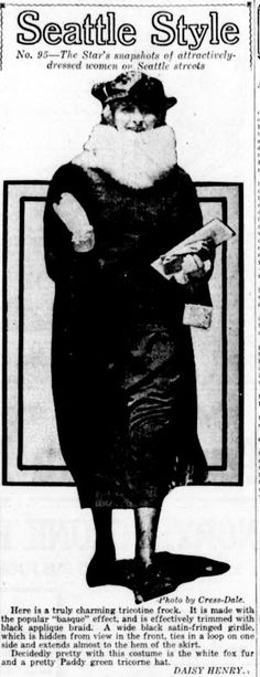 Seattle Style - From the June 04, 1920 issue of The Seattle Star