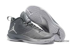 new arrival 0d2e0 7e853 Cheap Sale Jordan Super.Fly 5 Cool Grey Wolf Grey White 844677-014 New  Release