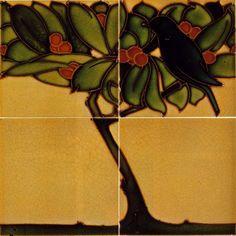 Art Nouveau Tiles Azulejos Art Nouveau, Art Nouveau Tiles, Unique Tile, Artistic Tile, Art Tiles, Art Deco Furniture, Tiling, Decorative Tile, Arts And Crafts Movement