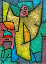 Paul Klee - Angelus Militans