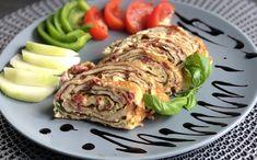 Roláda z Vajíčkové Omelety!👌 Low Carb Recepty Food by Heart ❤️ Salmon Burgers, Avocado Toast, Sushi, Low Carb, Gluten Free, Healthy, Breakfast, Ethnic Recipes, Food