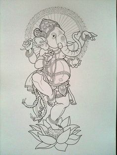 Dancing Lord Ganesh by Jeckylll, via Flickr