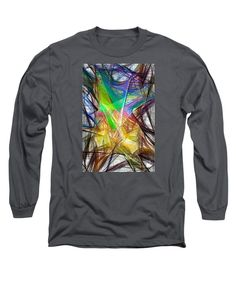 Long Sleeve T-Shirt - Abstract 9618