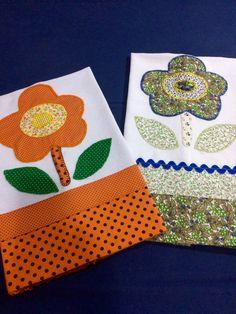 Applique Towels, Applique Patterns, Applique Quilts, Applique Designs, Fabric Crafts, Sewing Crafts, Sewing Projects, Patch Quilt, Primitive Painting