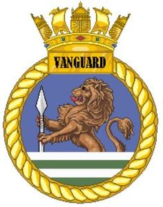 HMS Vanguard Hms Vanguard, Navy Badges, Coal Mining, Navy Ships, Crests, Royal Navy, Battleship, Patches, Logo
