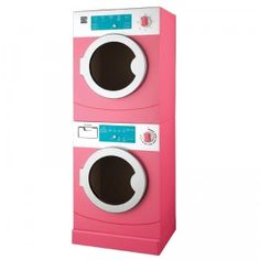 Kenmore Wood Washer-Dryer Set Realistically Completes Her Play HomeLaundry is a part of everyday adult life, and the My First Kenmore wooden washer. Ikea Play Kitchen, Pretend Kitchen, Toy Kitchen, Play Kitchens, Stackable Washer And Dryer, Stacked Washer Dryer, Kenmore Washer, Backyard Toys, Little Girl Toys
