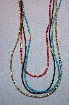 The Adventurous Rabbit: Fresh Necklace Styles