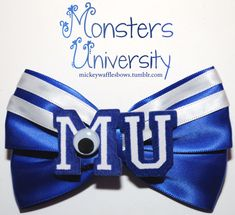 Monsters University Hair Bow by MickeyWaffles on Etsy, $8.00