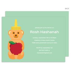 Mint Honey Bear Rosh