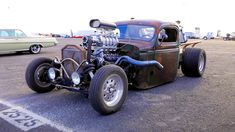 1939 Chevy Rat Rod Packs a Blown LS, Holley EFI, and AC 1954 Ford Truck, Chevy Trucks, Auto Body Work, Holley Efi, Truck Crafts, Rat Rod Pickup, Metal Fabrication, Rats, Rat Rods