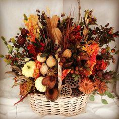 Happy fall basket!